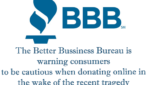 Be wary when donating online after tragedies, says Better Business Bureau