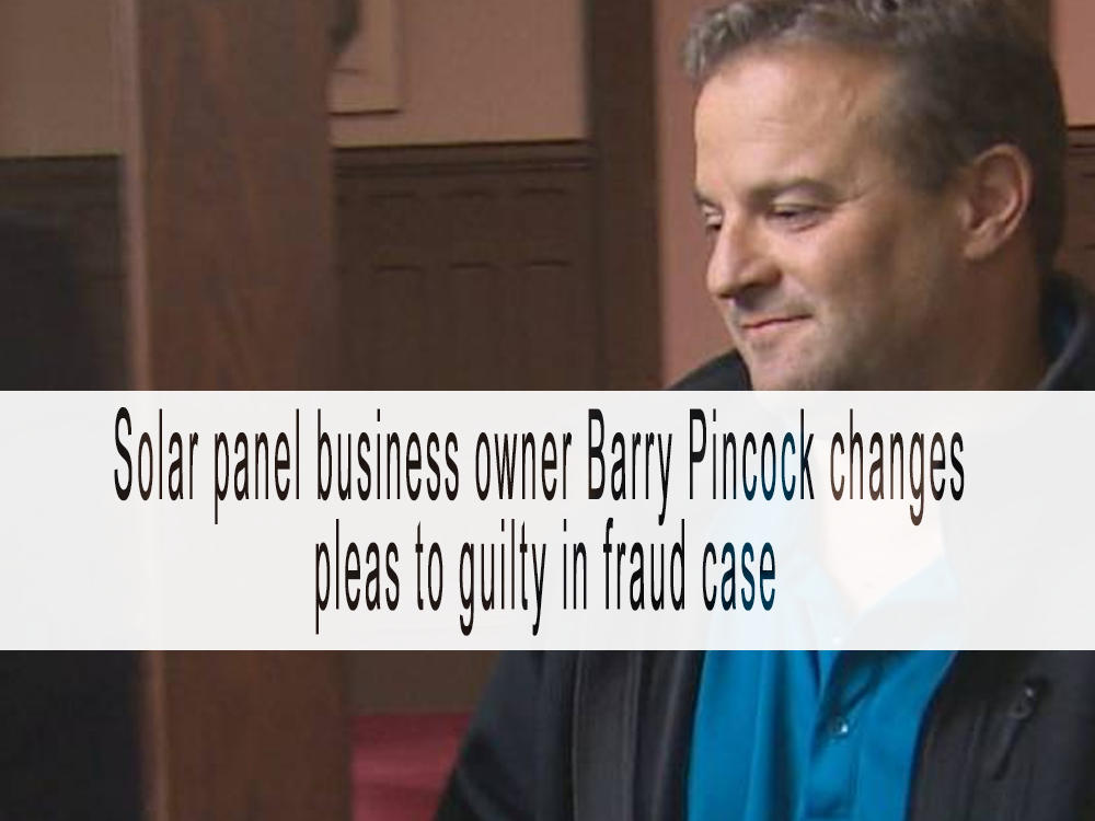 Solar panel business owner changes pleas to guilty in fraud case