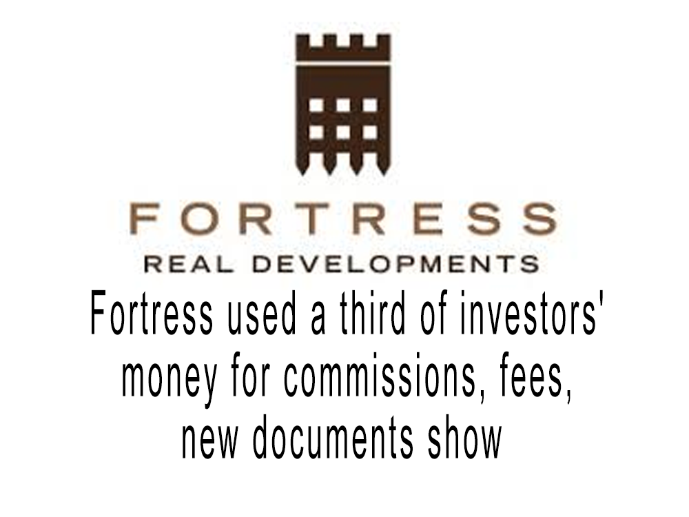 Fortress used a third of investors' money for commissions, fees, new documents show