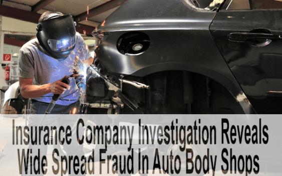 Auto Body Insurane Fraud,