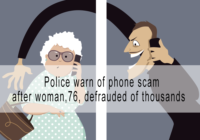 Police warn of fraud scheme after woman, 76, lost thousands of dollars