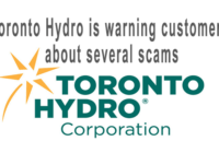 Toronto Hydro is warning customers about several scams