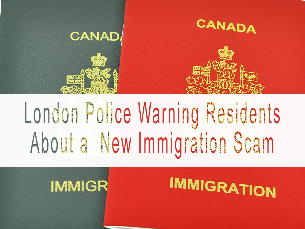 Police warn of ongoing 'immigration scam' in London